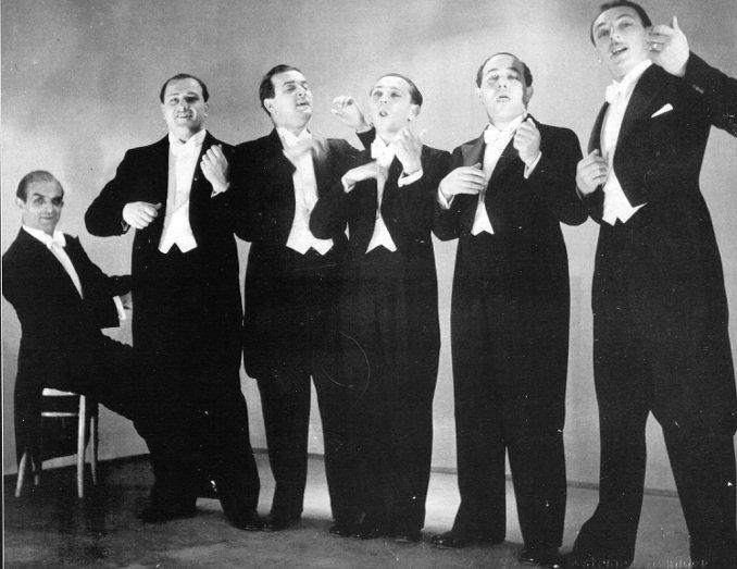 Comedian harmonists  википедия с комментариями